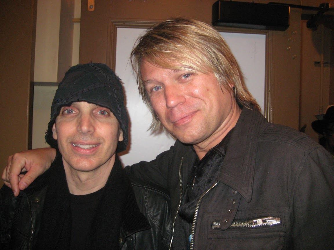 Jimmy Cypher With Joe Satriani
