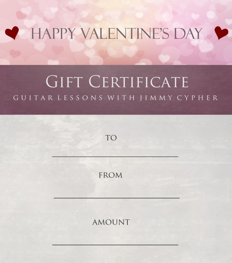 guitar lessons atlanta gift certificates