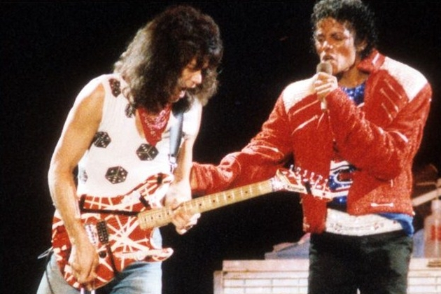 Eddie Van Halen Michael Jackson
