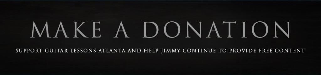 donations guitar instruction